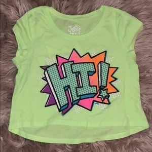 Justice girls shirt.